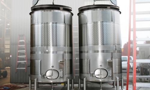 Variable Capacity Cider Tanks