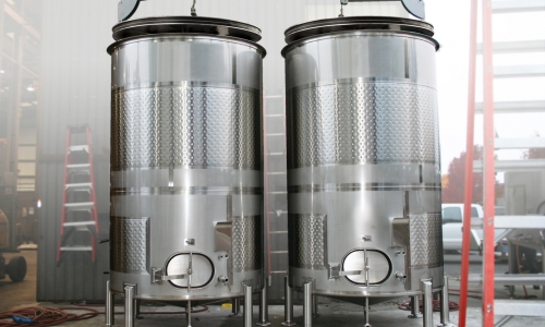 Variable Capacity Cider Tanks