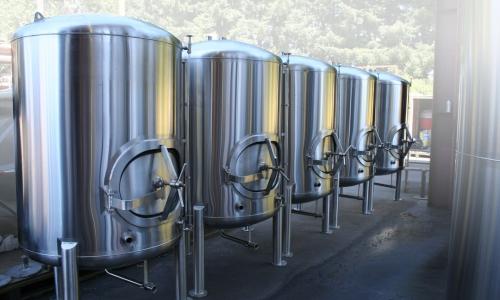 Bright Beer Tanks